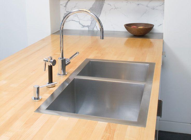 MIlaInternational flush mount sink Awesome Kitchen ideas