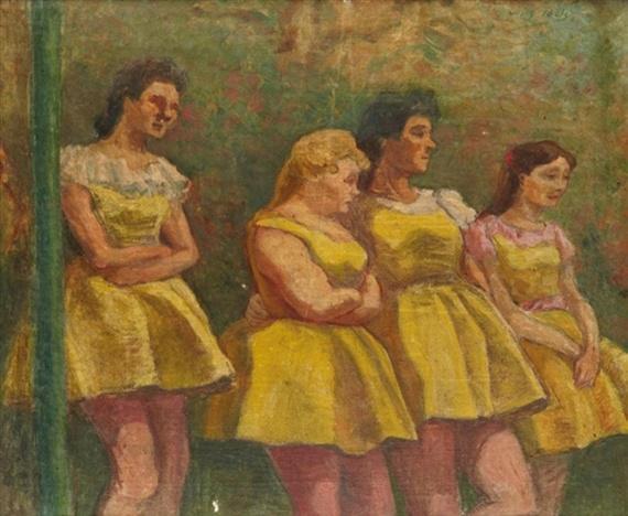 Henri Gabriel Ibels, Jeunes filles