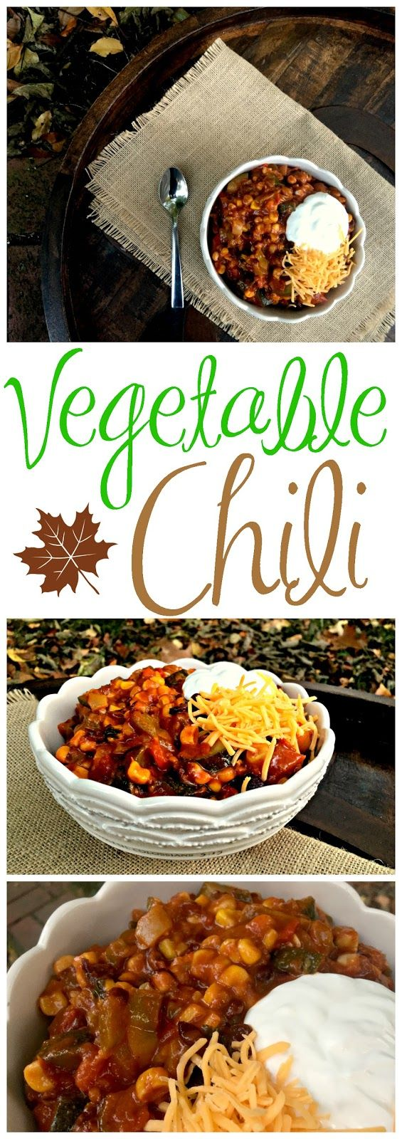 The most delicious Vegetable Chili