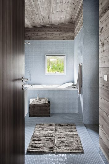 6 badeværelser med rustikke detaljer | Bobedre.dk