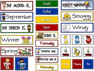 Calendar Board Labels and more.. free download
