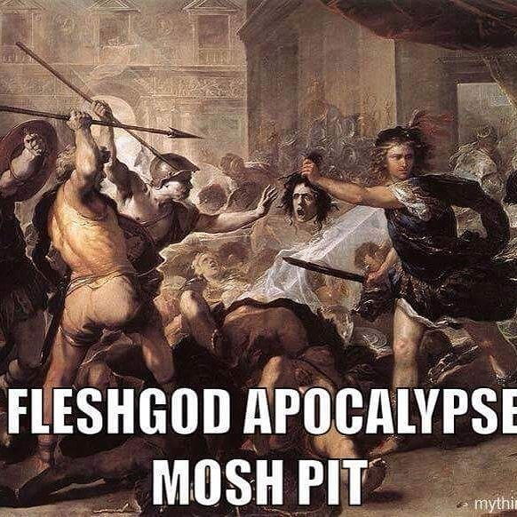 #bandmemes #musicmemes #bandadda Dear Fleshgod Apocalypse I have been waiting nearly four years for you guys to come back North America regions.  I had to miss your tour with Carach Angren due to a birthday with family. I hope by Summer around before or afterwards you'll return in full force. I am waiting very patiently to see you guys perform. You've been my favorite band since Agony was released. Not only it's truly my favorite album of all time but I have admired the Symphonic Death and…