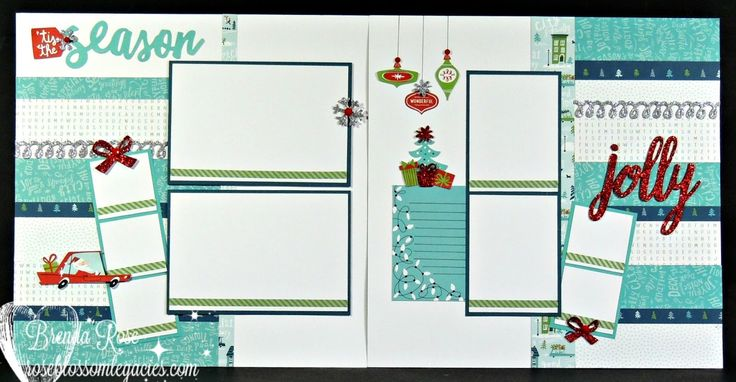 CTMH City Sidewalks Christmas Workshop Kit.  With included Photo Plus Protector, this layout holds 15 photos!  Click to order!