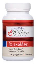 RelaxaMag™ contains magnesium bound to relaxing amino acid glycine, vitamin C, and Krebs cycle nutrients. Top magnesium to improve sleep and reduce stress. Wellness Resources® nutritional supplements are backed by over 20 years of scientific research on [...]