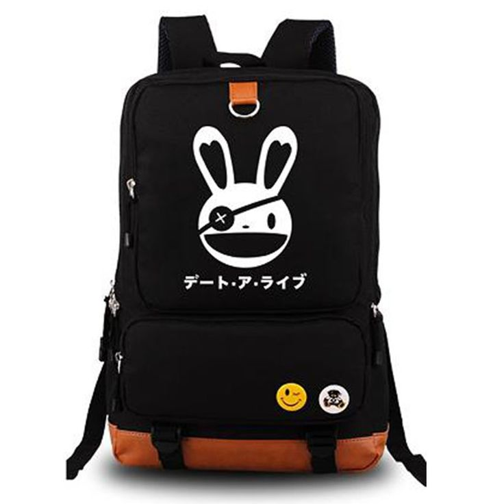 39.99$  Buy here - http://alib3c.shopchina.info/1/go.php?t=32633319088 - DATE A LIVE Yatogami Tohka Anime Cosplay Cartoon Bag Unisex Shoulder Bags Schoolbag Laptop Backpacks On Sale  #magazineonlinewebsite