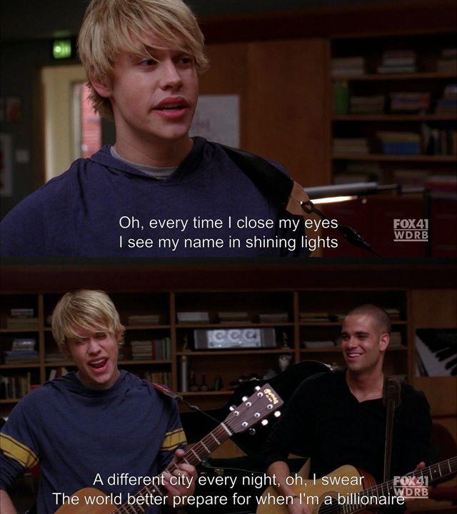 Glee subs : Photo