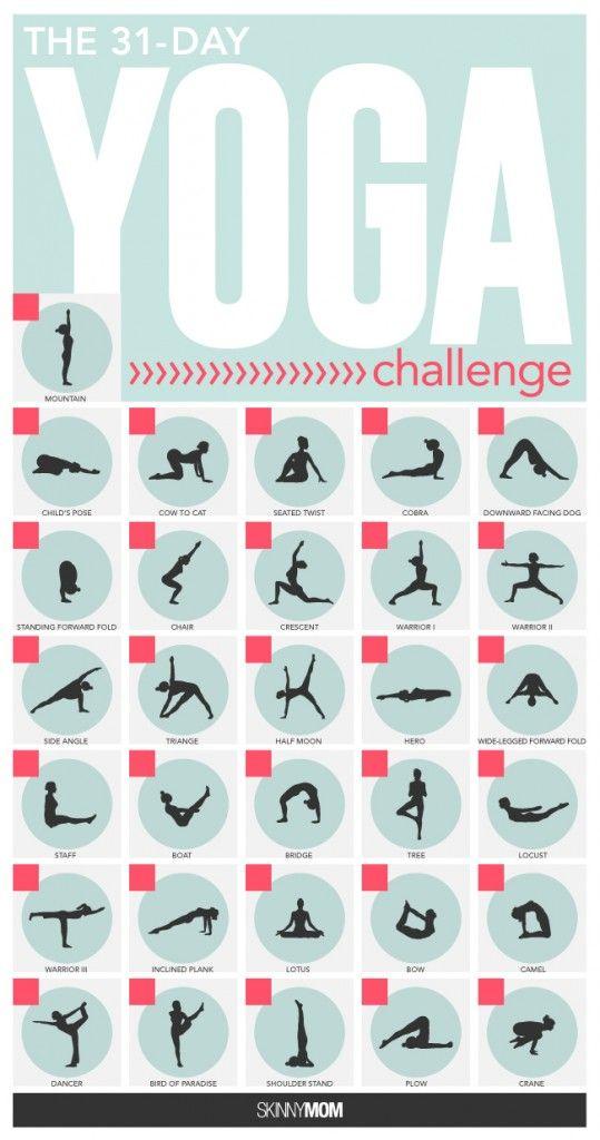 yoga challenge week 2