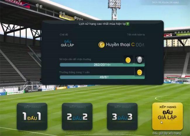 Trải nghiệm 'leo núi' Xếp hạng Giả lập trong FIFA Online 3 với 4-2-4