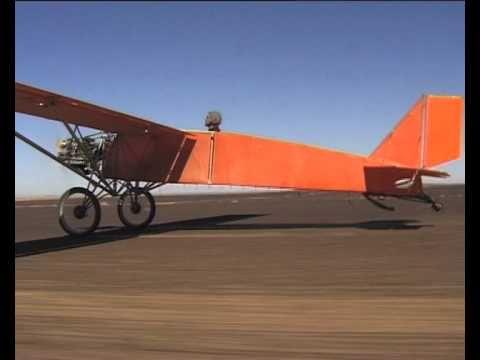 Het vliegtuig van Joost Conijn.