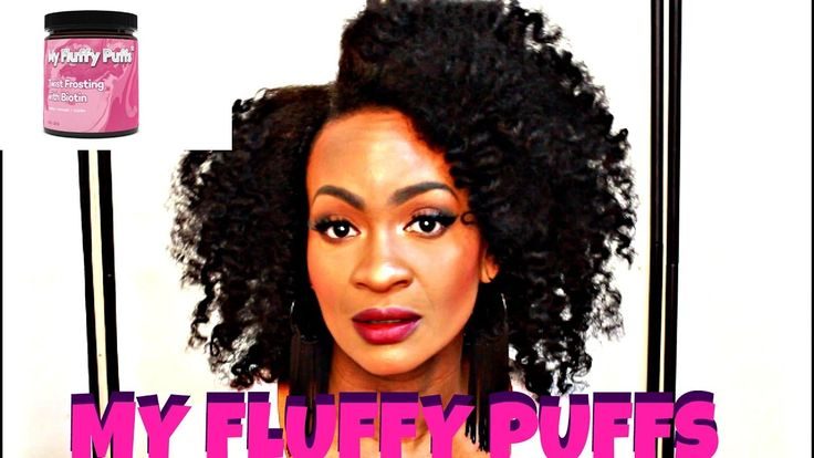 BANTU KNOT OUT FOR FINE HAIR! FT: MY FLUFFY PUFFS TWIST FROSTING W/T BIOTIN