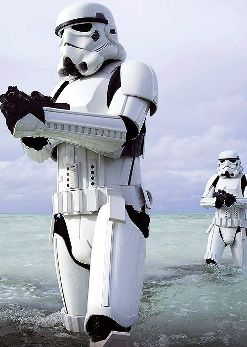 Rogue One: A Star Wars Story - Stormtroopers and Deathtroopers .