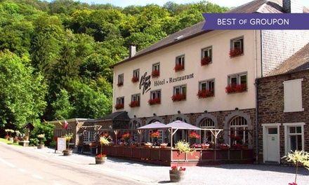 Ardennes belges : 1 à 3 nuits avec petits déjeuners, location vélos - dîner(s) en option à l'hôtel L'Eau Vive pour 2