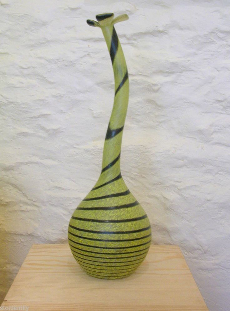 Kosta Boda Huge 'Don Juan' Sculpture Vase by Ulrica Hydman Vallien.  From our ebay site 'Em's Eclectic Emporium' - this overt and quirky piece measures an impressive 51cm tall. It belongs to the Kosta Boda 'Artist Collection' and dates to the 1990's.