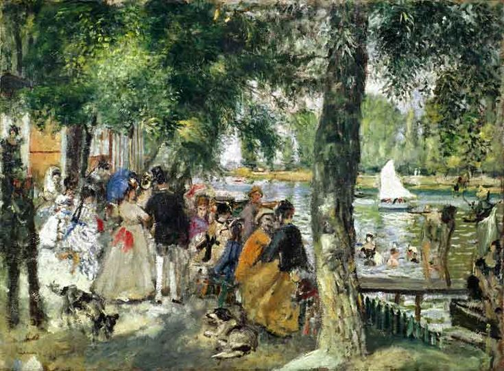 Pierre-Auguste Renoir - Bathing in the Seine or La Grenouillere