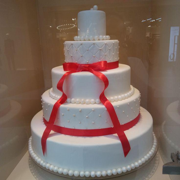 Tort weselny moich marzeń. :) / Wedding cake of my dreams. :) | Cukiernia Sowa Aleja Bielany | Bielany Wrocławskie (Lower Silesia Voivodeship), Poland