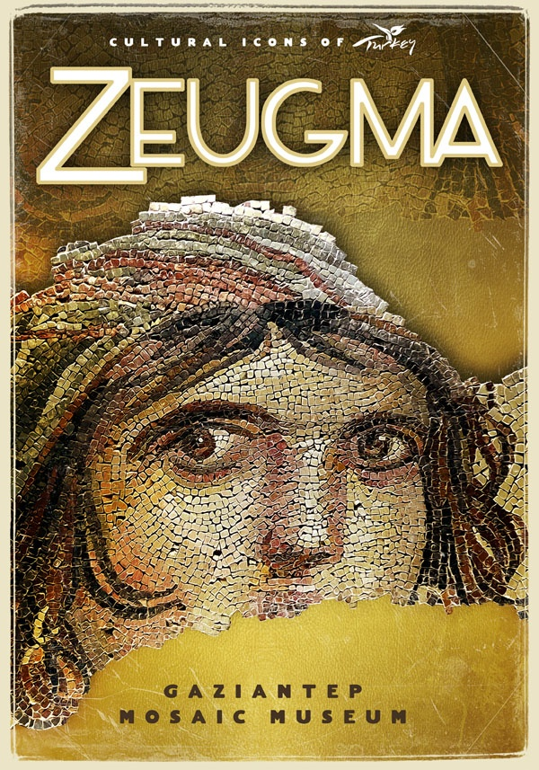 Zeugma, Cultural Icons of Turkey by turkiyeposterleri.com