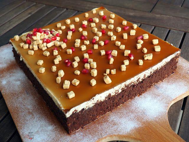Tarta de chocolate y mousse de Baileys