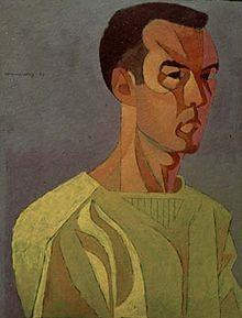 Frederick Hammersley - Self Portrait, 1950