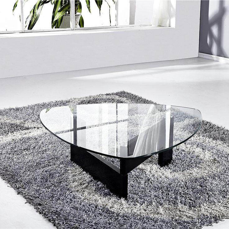 Les 25 meilleures id es de la cat gorie table basse verre for Table basse forme galet