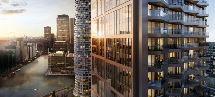 The GRID Building, Wood Wharf, London / GRID Architects