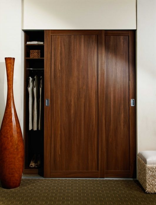 53 best master closet images on pinterest master closet - Wooden sliding closet doors for bedrooms ...