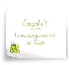 Un massage au raisin ? Le secret de beauté le plus naturel et le plus efficace ! Découvrez les secrets des Spa Caudalie