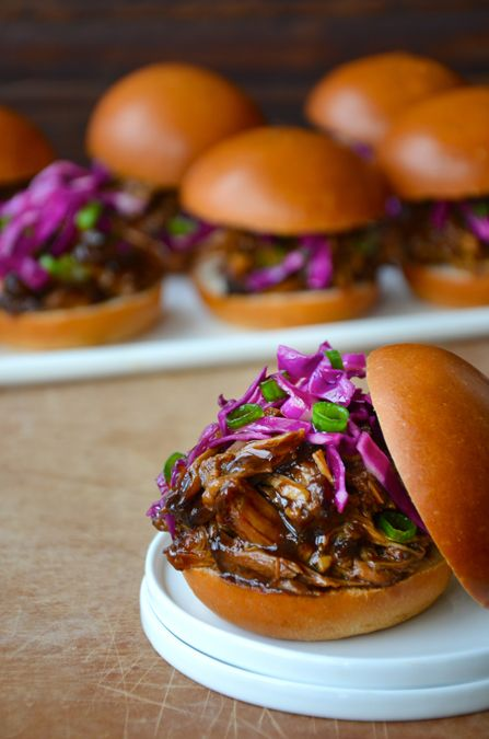 Get a jump on weeknight dinners with slow cooker balsamic honey pulled pork.