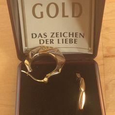 Gebraucht Neue Creolen Linda-Echtes Gold,4Gramm schwer. in 8355 Patzen for € 40.00 – Shpock