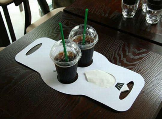 Make Your Own Reusable Office Drink Carrier