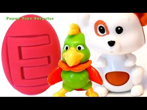 Play Doh Super SURPRISE Easter EGGS rainbow colors and counting learning - YouTube