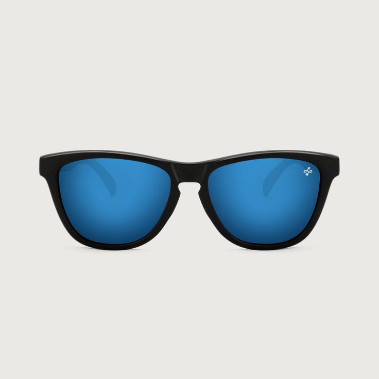 HOKANA BLACK GLARE SKY SUNGLASSES