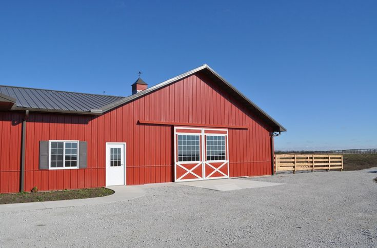 Which type of door is best for your pole barn? Post