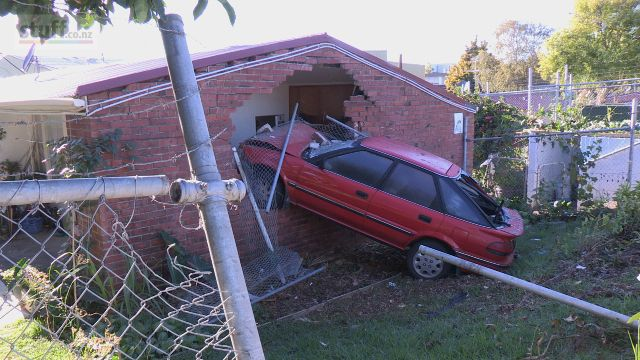Good old Toyota Corrolla! Came off beter than the house by the looks of it.
