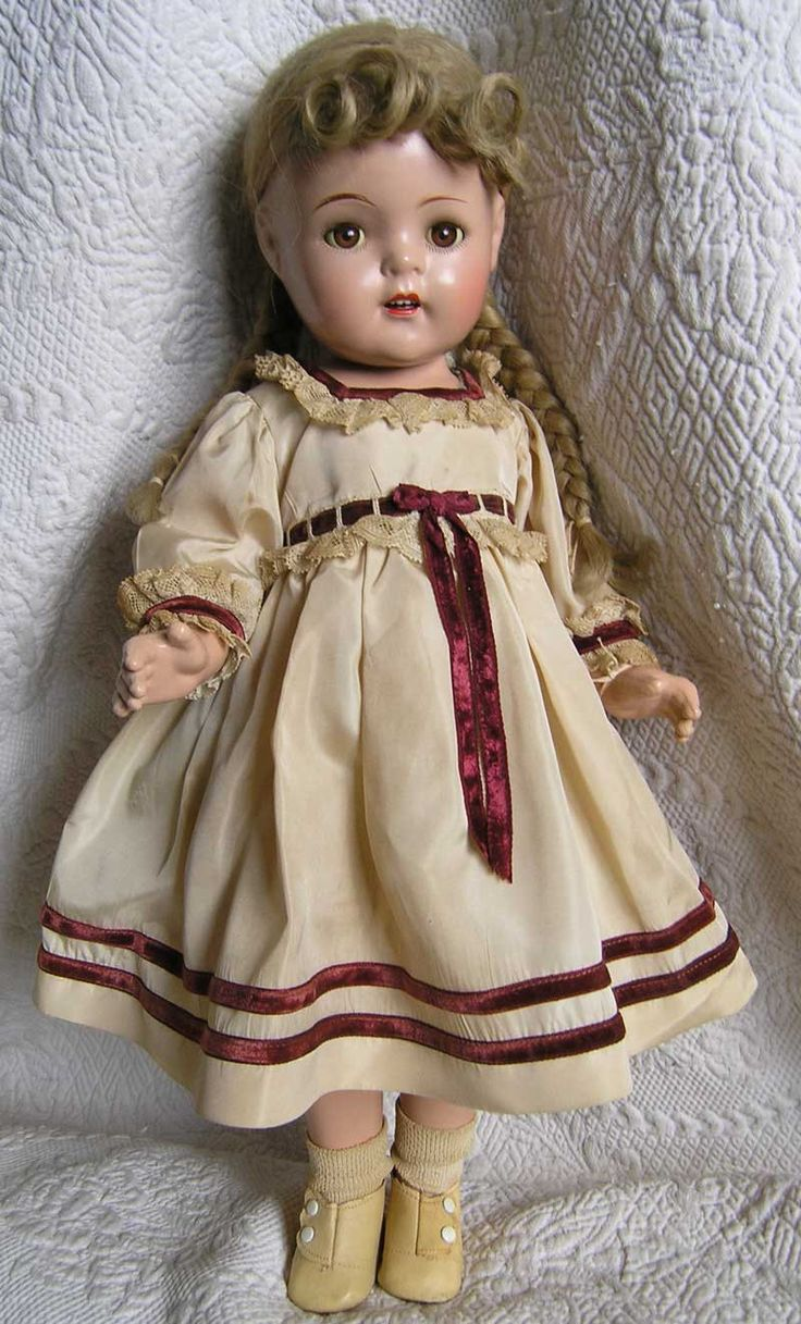 Madame Alexander 1937 McGuffey Ana, excellent condition, 20 inch. $410.00, via Etsy.