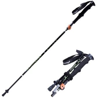เก็บเงินปลายทาง  PACEMAKER Ultralight Collapsible Trekking Pole, Travel Hiking Pole,Walking Pole, Climbing Stick with Soft Handle, Anti-shock Black  ราคาเพียง  943 บาท  เท่านั้น คุณสมบัติ มีดังนี้ Collapsible Design: Made of strong 7075light Aluminum, durable and sturdy, great for trekking, hiking,backpacking, climbing, and mountaineering Extendable & Ultralight: Which isultralight and durable, Adjustable from 43.5 to 52 in height, canbe folded in a 15 carrying bag(included). Shock-absorbing…
