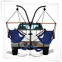 Hammaka Trailer Hitch Stand with Hammaka Chairs with Wooden Dowels - EXPENSIVE but awesome - $319.97