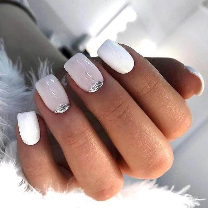 40 Natural Nail Designs For Any Occasion Belletag Casual Nails White Nails Cute Nail Art Designs