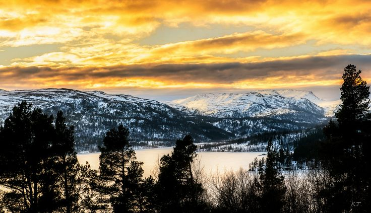 January scenery by Knut Trondsen on 500px