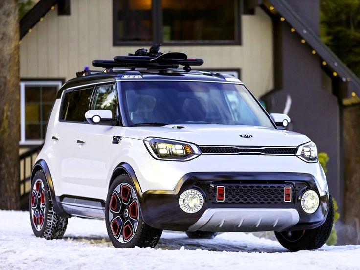 눈길에서도 안정적인 주행이 가능한 전자식 4륜 구동 시스템(e-AWD)이 적용된 트레일스터 Trail'ster has e-AWD system which makes the driving on the snowy road safe.