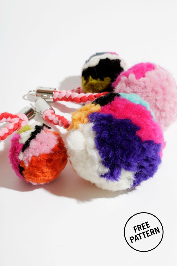 36 best images about free knitting patterns on pinterest for Pom pom craft patterns