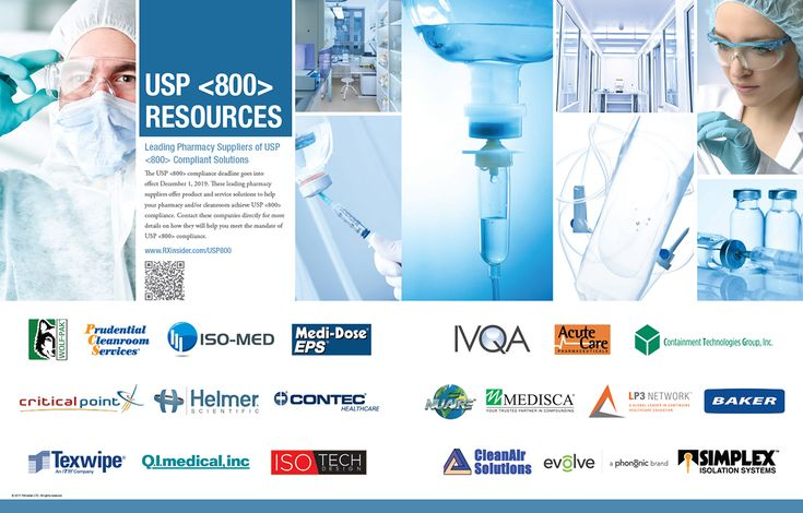 USP 800 Resources (as seen in the 20Ways Winter 2017 Hospital & Infusion Issue).