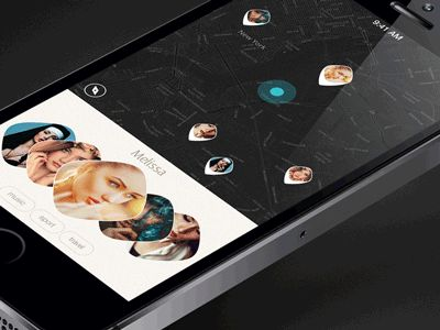 Dribbble - Swipe Animation by Anton Drokov