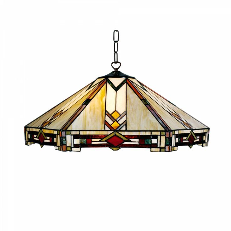 Prairie 3 Bulb Tiffany Ceiling Pendant Light by Tiffany Lighting Direct. Discover our Range, special offers of Tiffany Lamp, Art Deco and Traditional Lighting , free delivery.