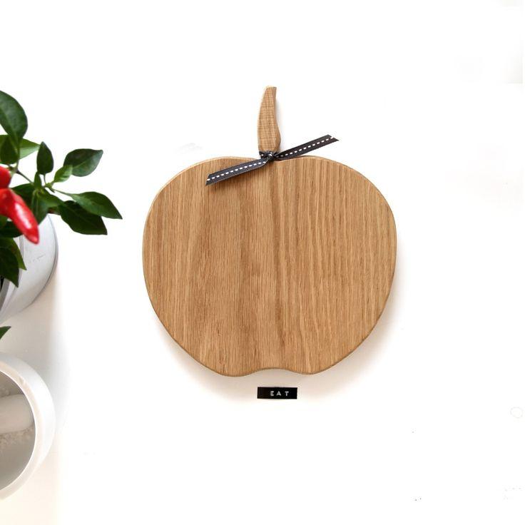 """Planche à découper en chêne """"Apple"""""""