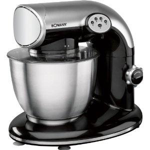 Bomann KM 362 CB, Negro, Acero inoxidable, 230 V, 50 Hz - Robot de cocina (importado de Alemania)    amazon.es