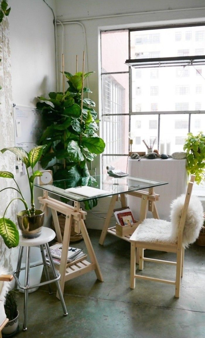 Work Space :: Studio :: Home Office :: Creative Place :: Bohemian Inspired :: Free your Wild :: See more Boho Style Design + Decor Inspiration /untamedorganica/ Home Interior, Interior And Exterior, Interior Decorating, Sweet Home, Living Spaces, Living Room, Deco Design, Design Design, Interiores Design