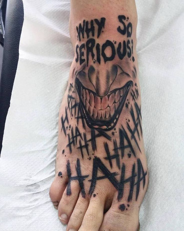 DC Jocker Batman Tattoo Tatuajes