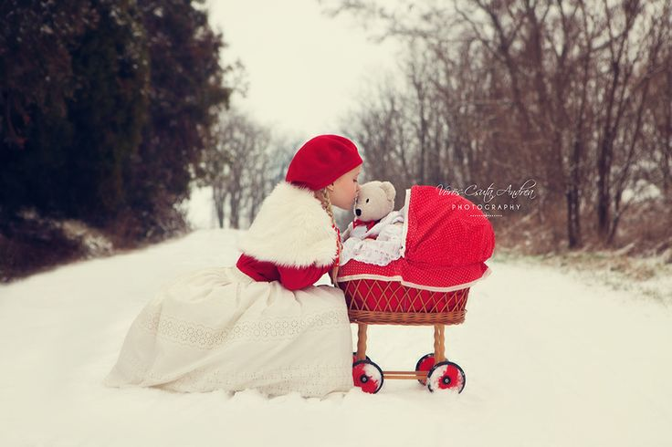 winter, kids, Teddy bear, csutafoto