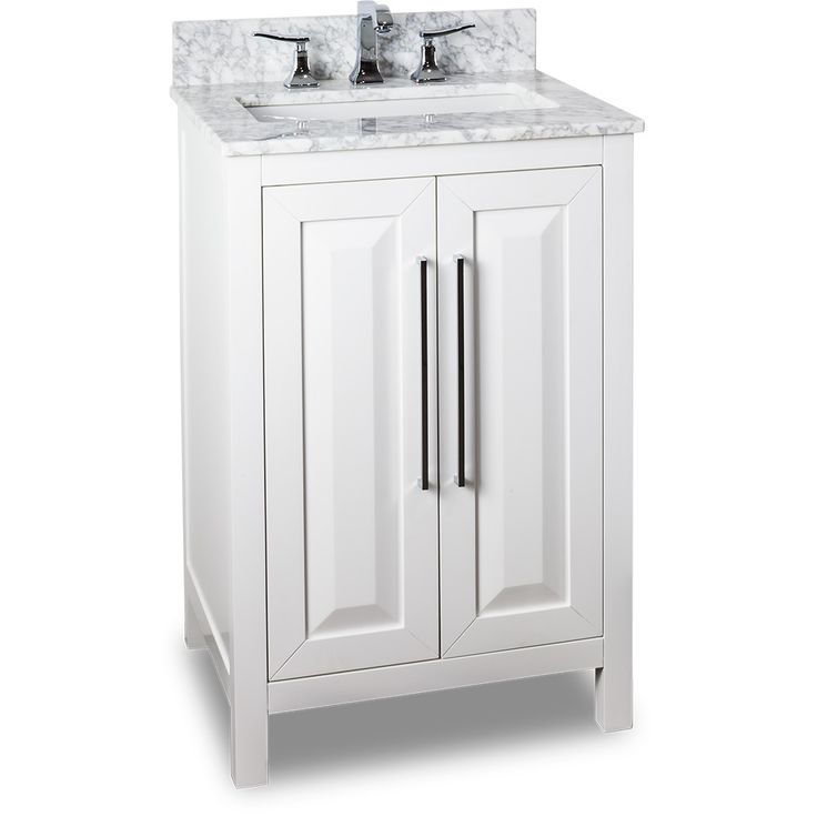 24 Inch White Bathroom Vanity With Marble Top Wyndenhall Windham Soft White 24 Inch Bath