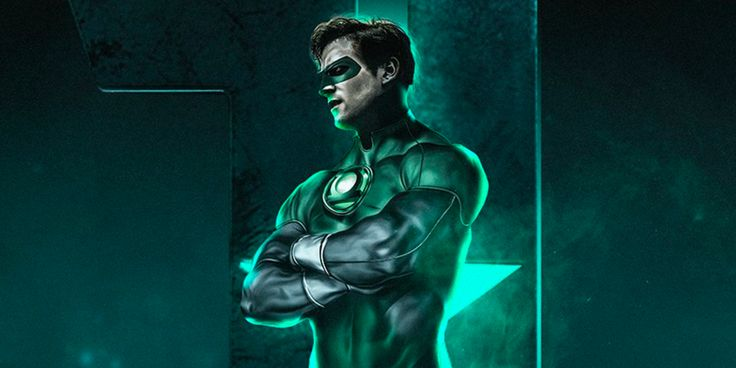 Justice League: What an Armie Hammer Green Lantern Poster Would Look Like